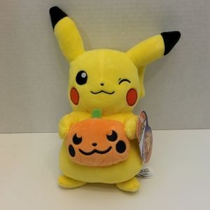 "Pokemon Pikachu Halloween Plush, 8"" Plush Toy"
